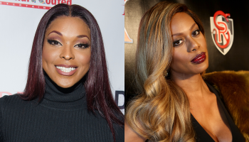 Amiyah Scott and Laverne Cox