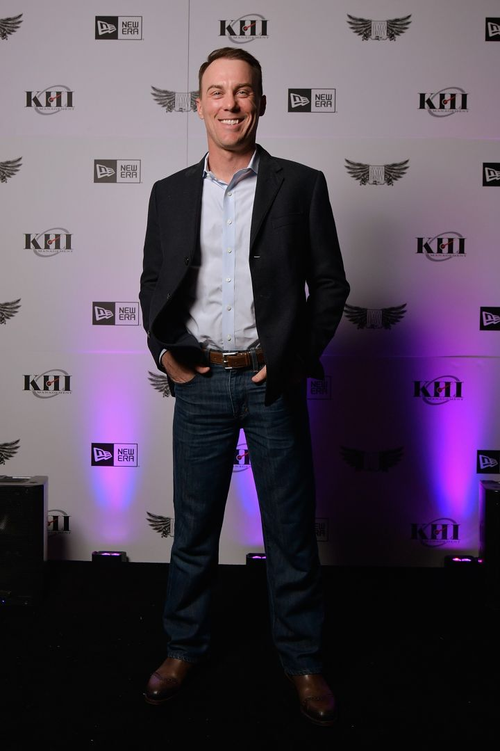NASCAR driver Kevin Harvick.