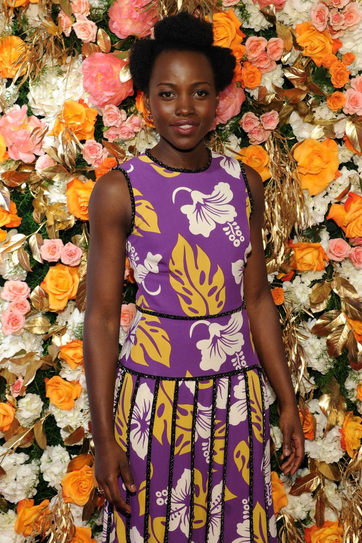 Lupita Nyong'o attends the 61st Annual Obie Awards.