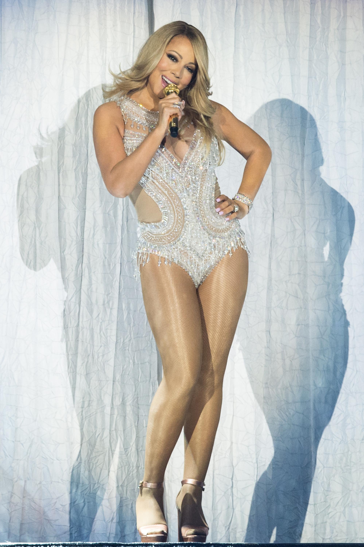 Mariah Carey Performs At The O2 Arena