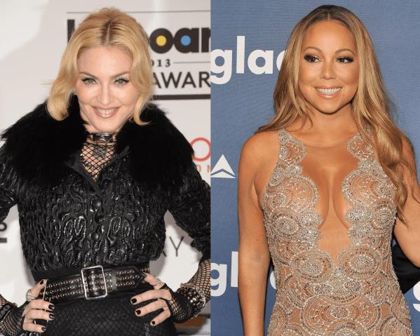 Madonna and Mariah Carey