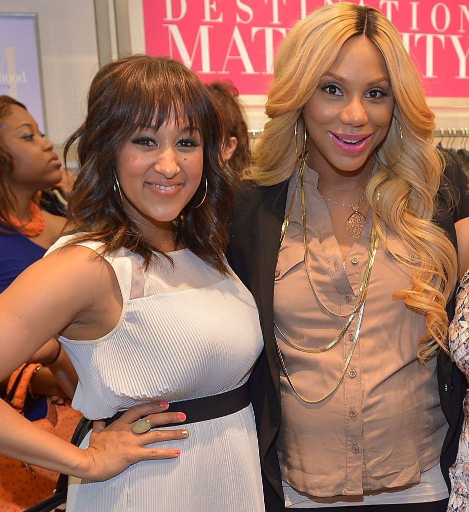 Tia and Tamera Launch Milky! at A Pea in the Pod