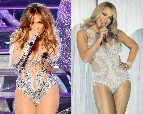 J.Lo and Mariah Carey