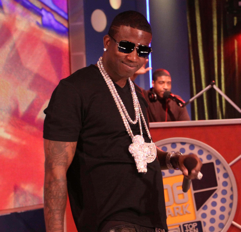 Gucci Mane Visits BET's 106 & Park - June 1, 2010