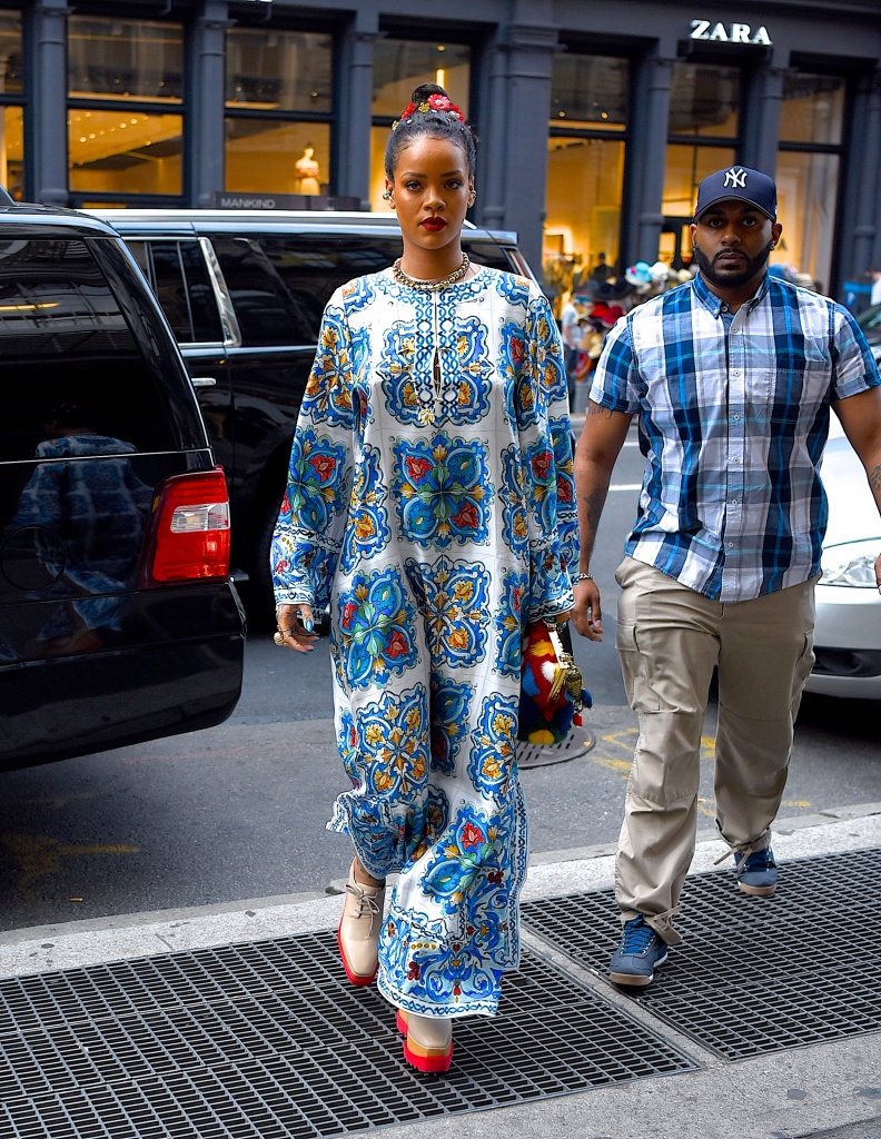 Celebrity Sightings in New York City - May 29, 2016