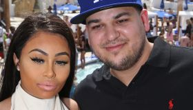 Rob Kardashian And Blac Chyna At Sky Beach Club