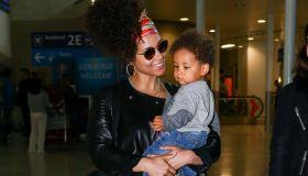 Alicia Keys Sighting In Paris - May 31, 2016