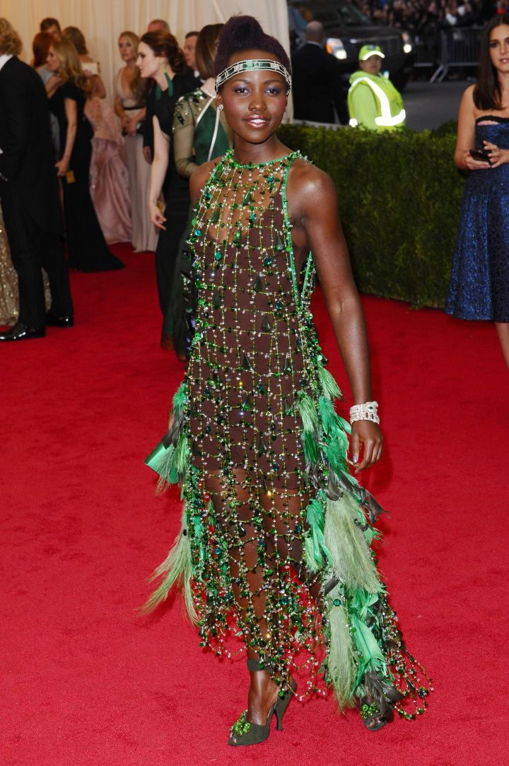 Lupita Nyong'o attends the 'Charles James: Beyond Fashion' Costume Institute Gala at the Metropolitan Museum of Art.