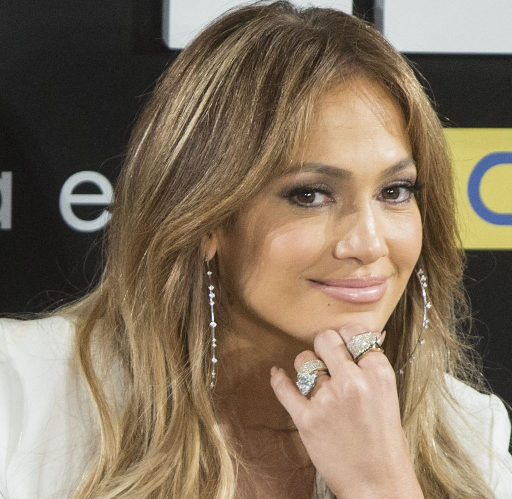 Jennifer Lopez Press Conference in Mexico City