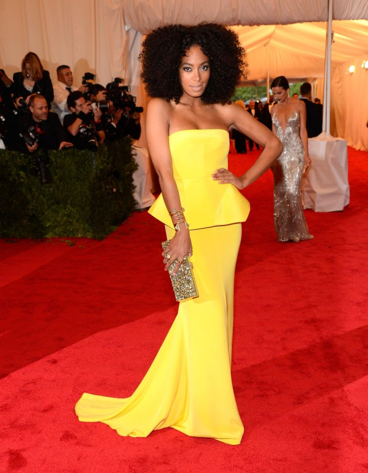 Stunning at the 2012 Met Gala.