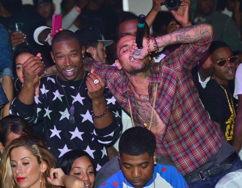 Chris Brown And T.I. Host Velvet Nightclub