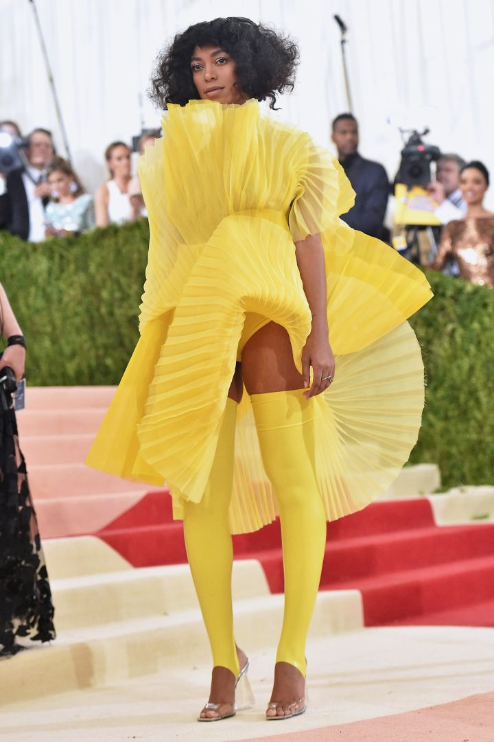She really pulled no punches at the 2016 Met Gala.