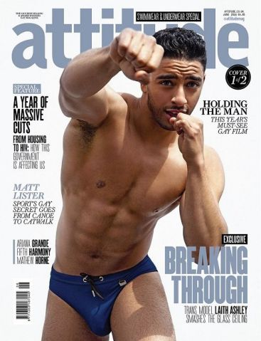 Laith Ashley Attitude Magazine