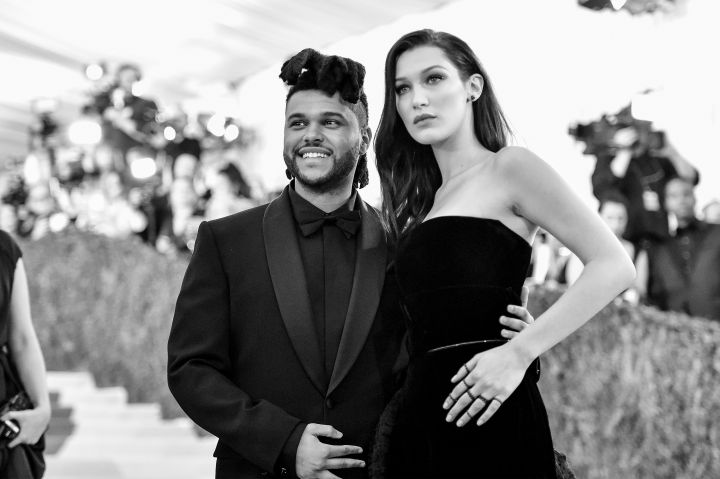 Keep your eye on red carpet bandits The Weeknd & his girl Bella Hadid.
