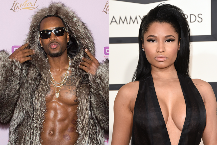 Safaree Nicki Minaj war insecurity