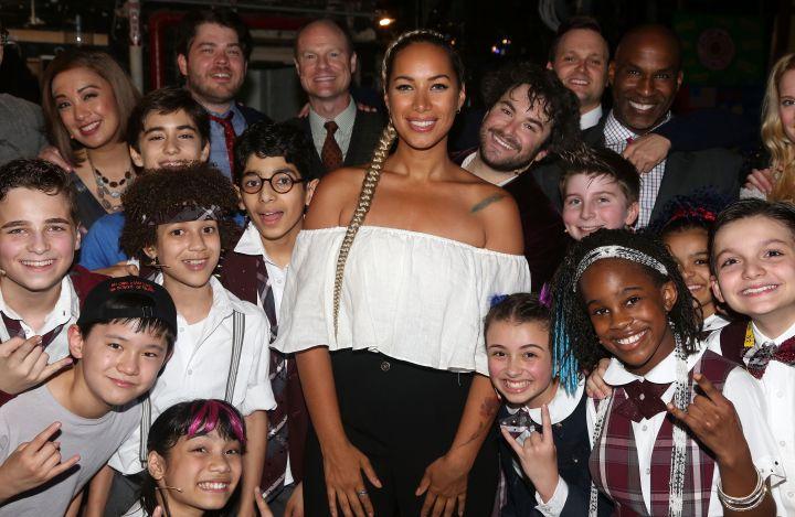 Celebrities Visit Broadway - June 5, 2016