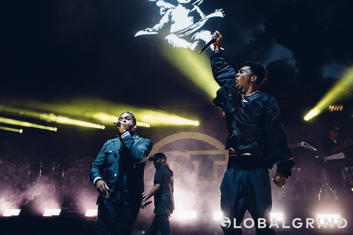 "Desiigner and 'Ye go back and forth for ""Pt. 2."""