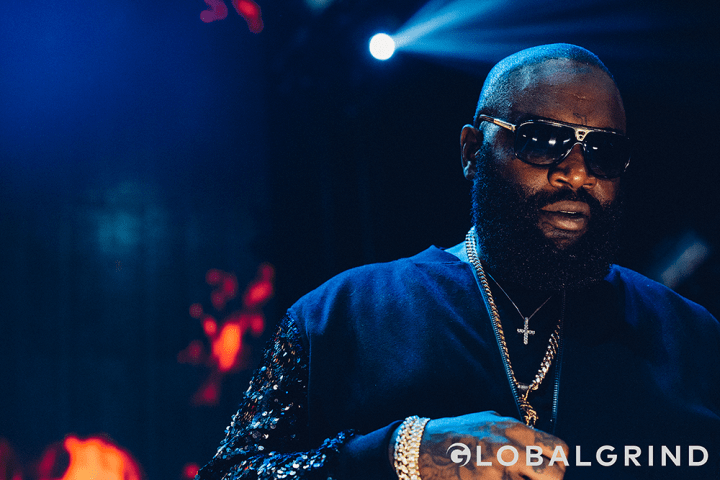 The Bawse Ricky Rozay was a surprise guest for DJ Khaled.