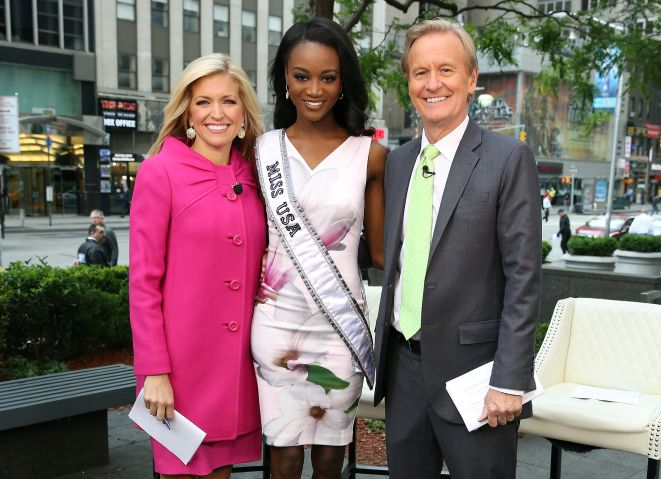 Miss USA Deshauna Barber Visits Fox & Friends