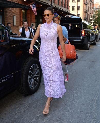Celebrity Sightings in New York City - June 9, 2016