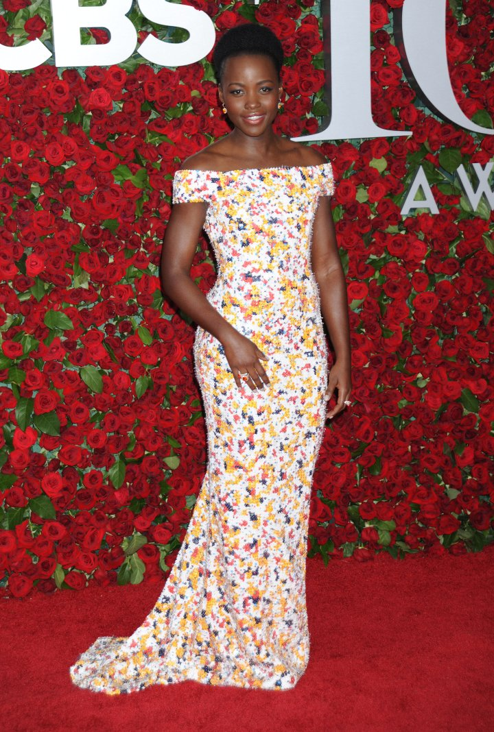 Actress/Filmmaker Lupita Nyong'o looked gorgeous in floral.