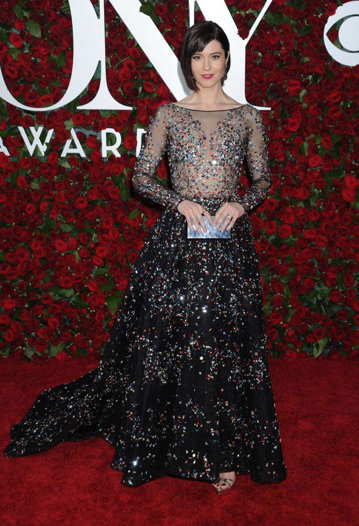 Actress Mary Elizabeth Winstead was glowing.