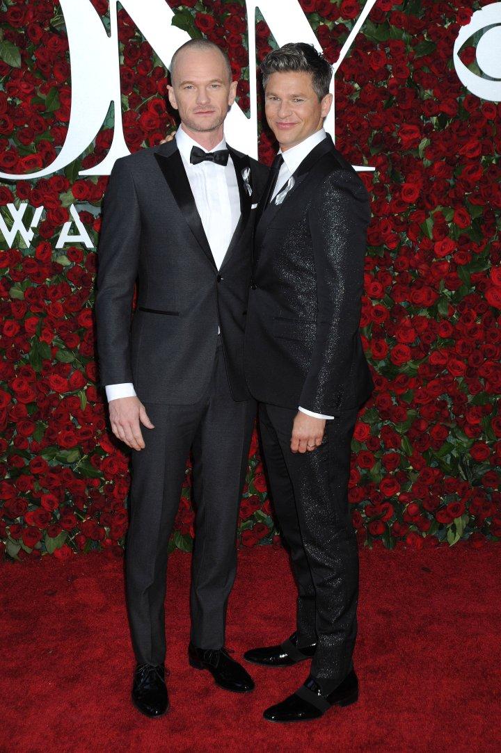 Actor Neil Patrick Harris & David Burtka were a sight for sore eyes.