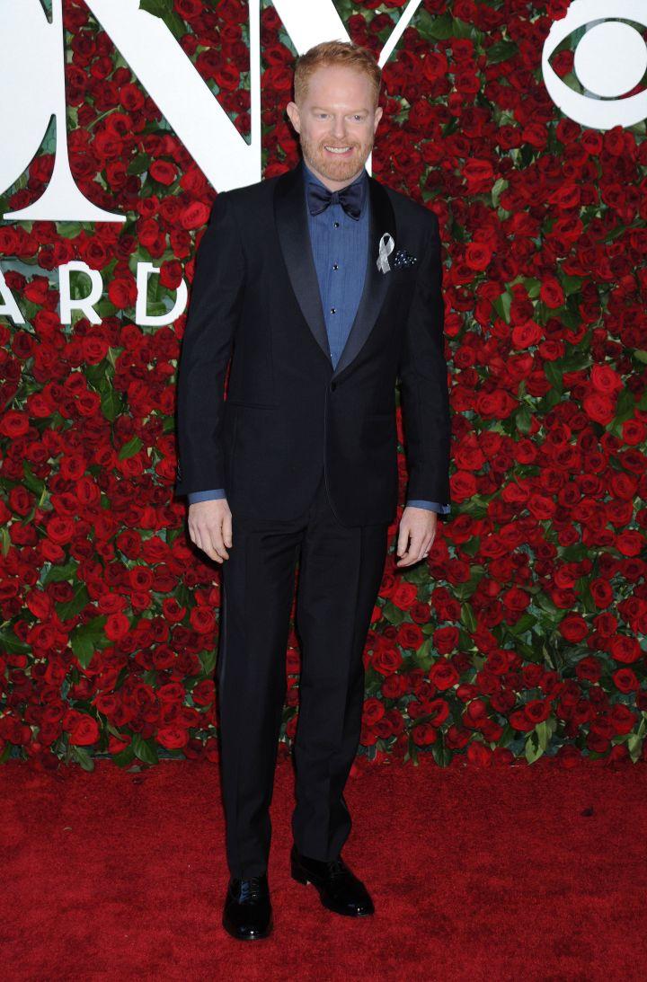 Actor Jesse Tyler Ferguson looked dapper.