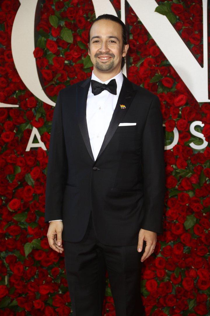 """Hamilton"" actor/creator Lin-Manuel Miranda won big."