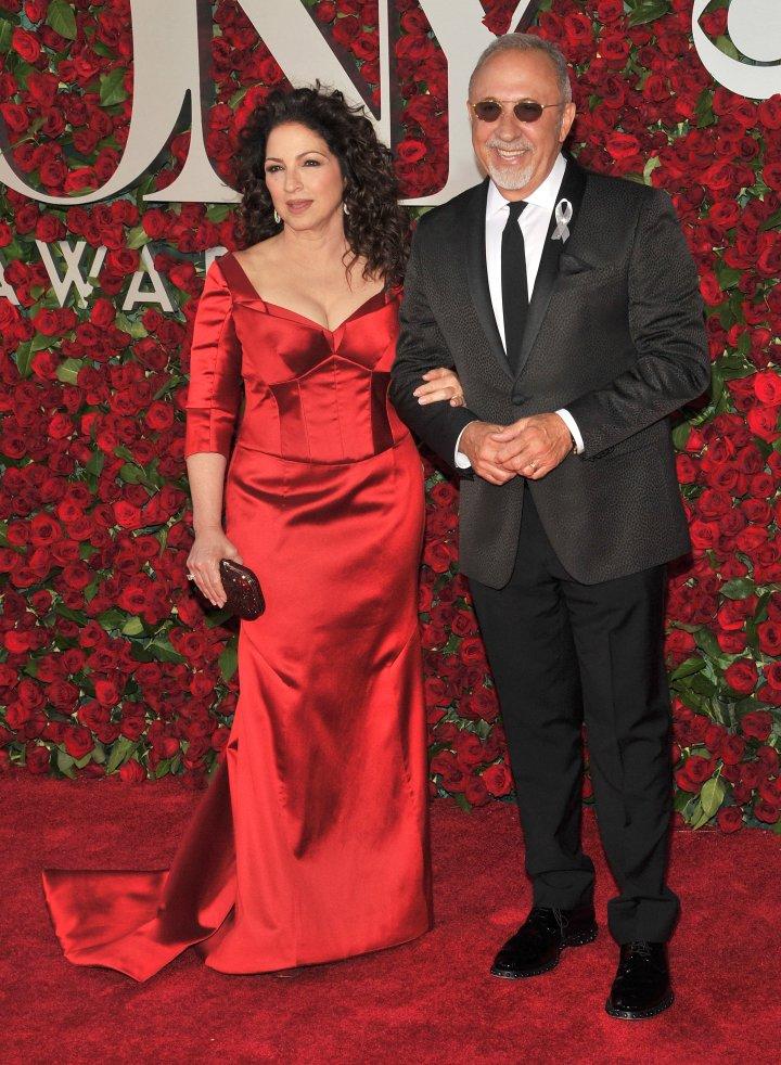 Singer-songwriter Gloria Estefan & Emilio Estefan.