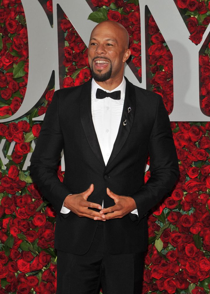 Rapper/Actor Common was dashing as always.