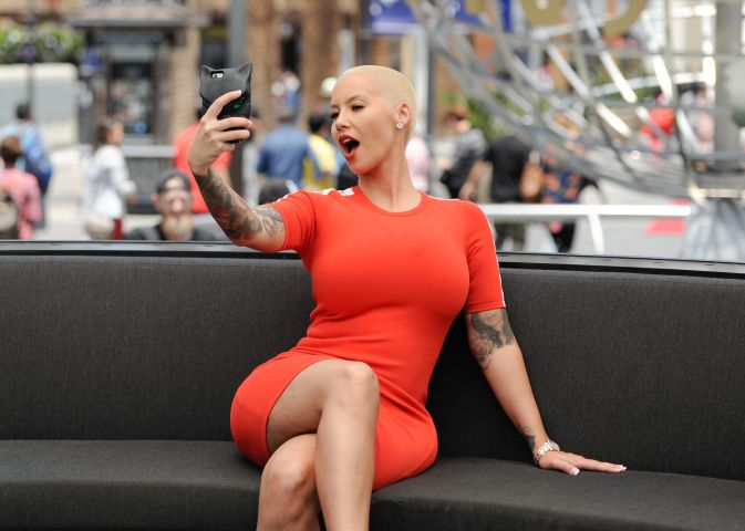 Amber Rose On 'Extra'