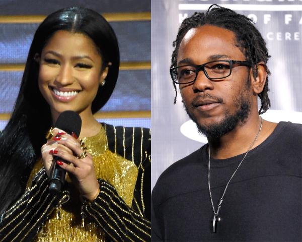 Nicki Minaj and Kendrick Lamar