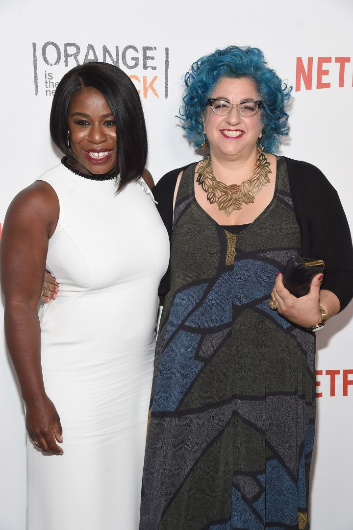 Uzo Aduba and Jenji Kohan