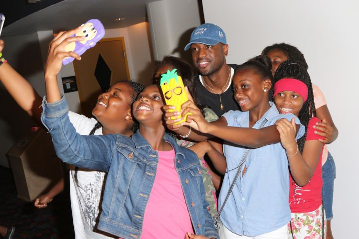 Dwyane Wade Foundation Hosts Screening Of Central Intelligence For The Youth