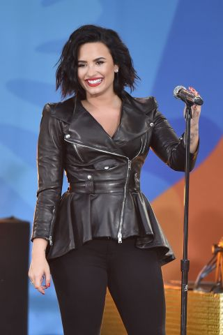 Demi Lovato Performs On ABC's 'Good Morning America'