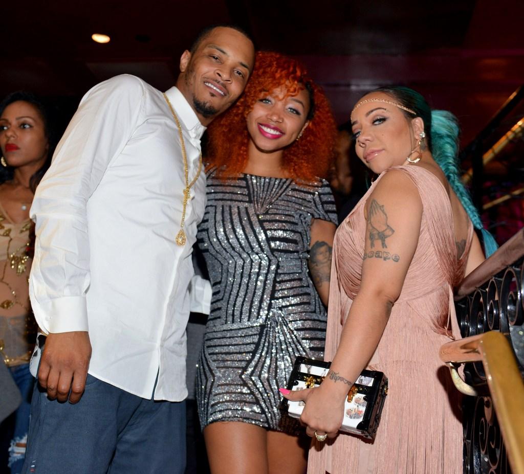 'Tiny' Tameka Harris Celebrity Birthday Affair