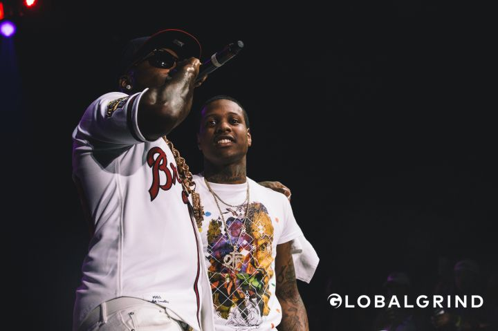 This ain't whatchu want. Lil Durk came out to support Jeezy