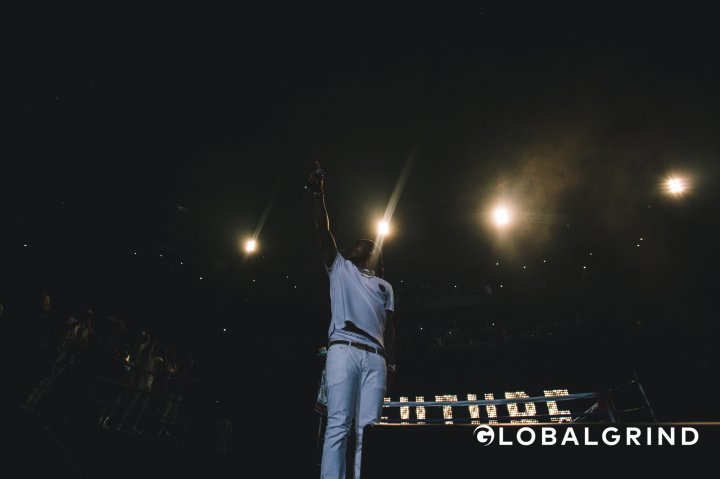 Future was the surprise guest at Hot 107.9's Birthday Bash concert in Atlanta.