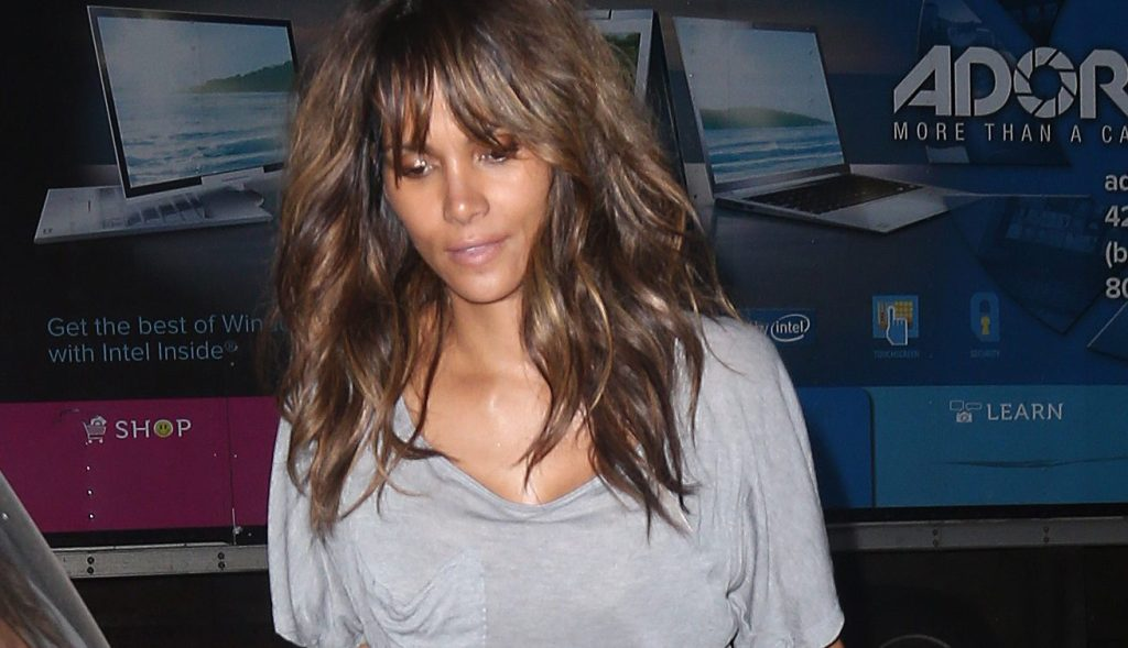 Halle Berry out and about in New York City.