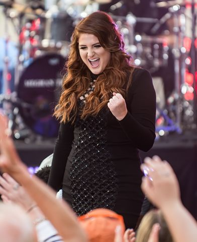 Meghan Trainor performs on NBC's 'Today' show at Rockefeller Center in New York