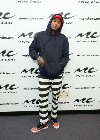 Rapper YG Visits Music Choice