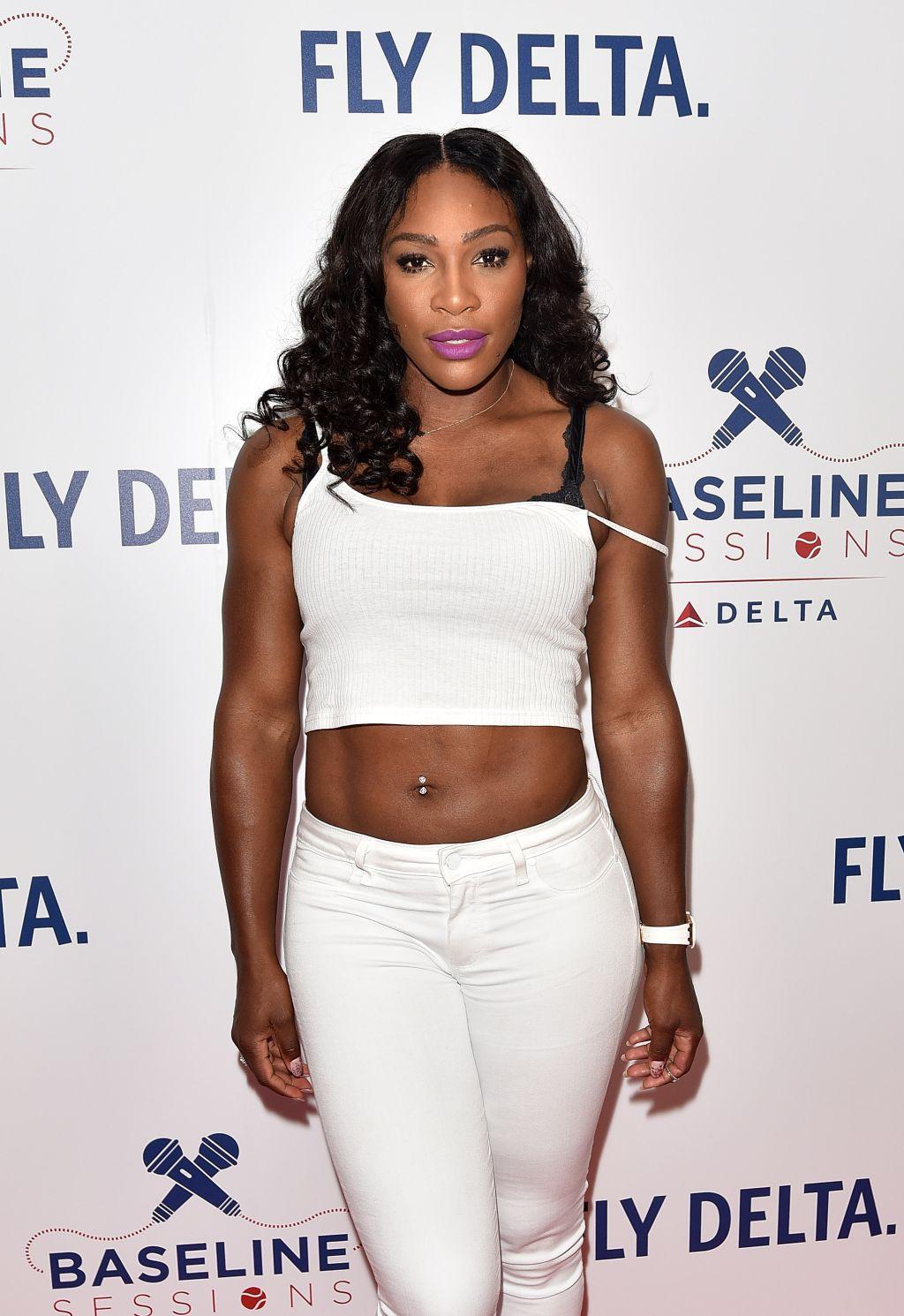 Serena Williams + Delta Baseline Sessions