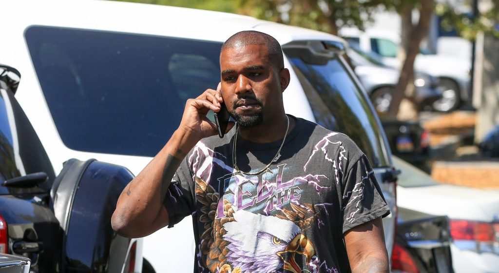 Kanye West's eagle tee