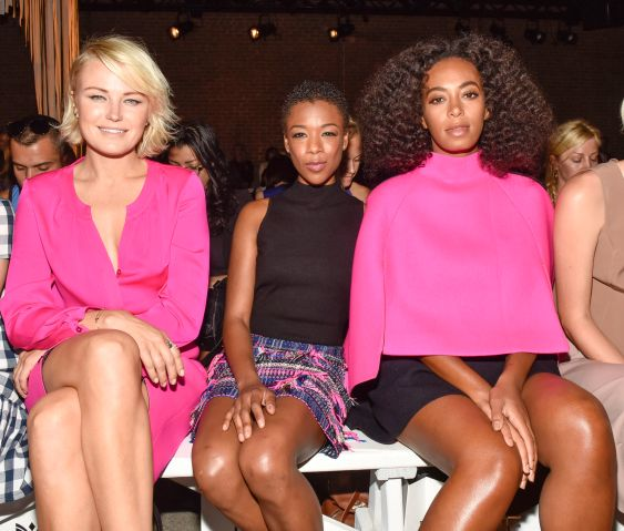 Milly - Front Row & Backstage - Spring 2016 New York Fashion Week