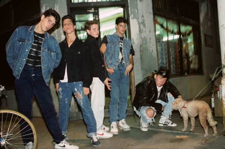 Photo of NEW KIDS ON THE BLOCK and Jordan KNIGHT and Joey McINTYRE and Danny WOOD and Donnie WAHLBERG and Jonathan KNIGHT