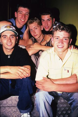 N'Sync London show case 1997
