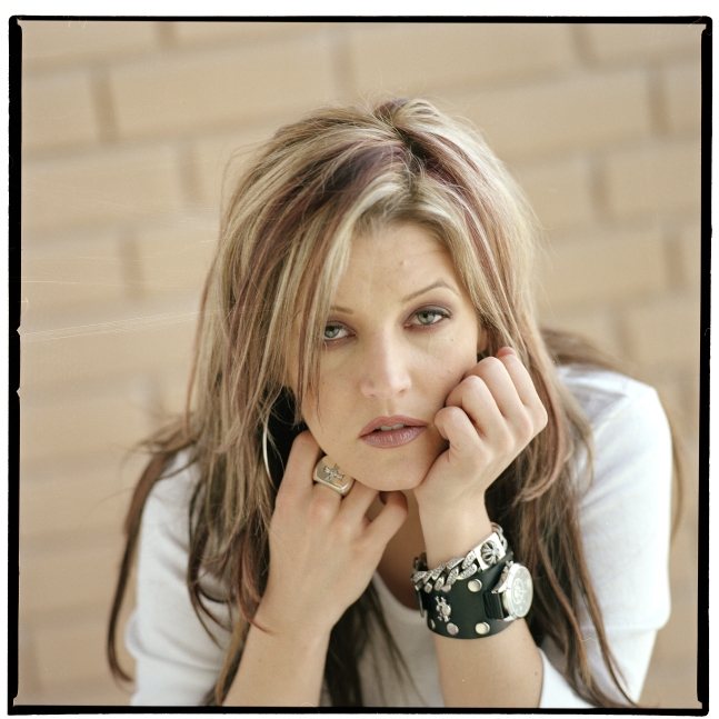 Lisa Marie Presley, singer–songwriter daughter of Elvis Presley, has recorded a surprisingly strong