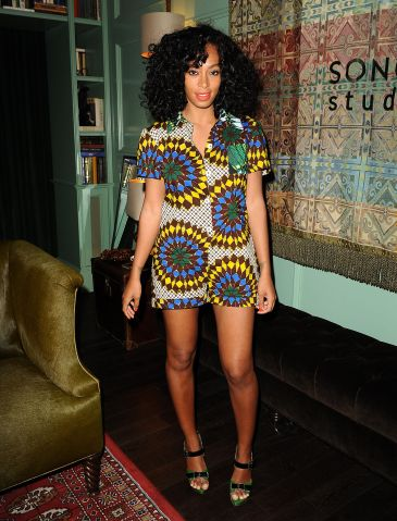 Solange Listening Party For New Album 'True'