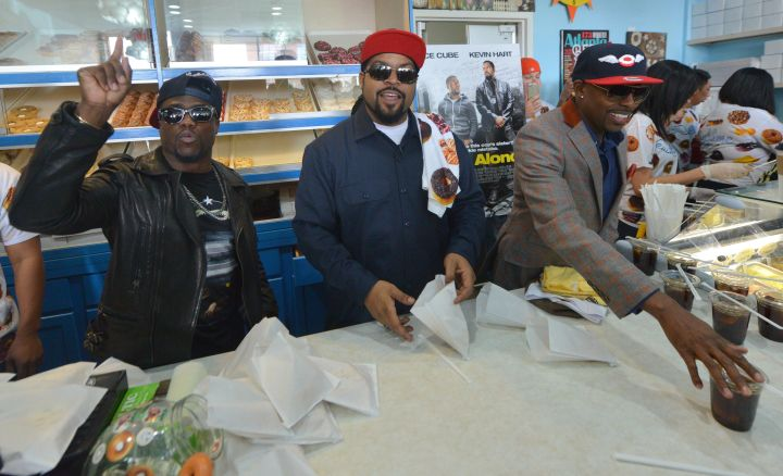 Ice Cube and Kevin Hart Visit Sublime Donuts In Celebration Of The 'Ride Along' Movie Tour